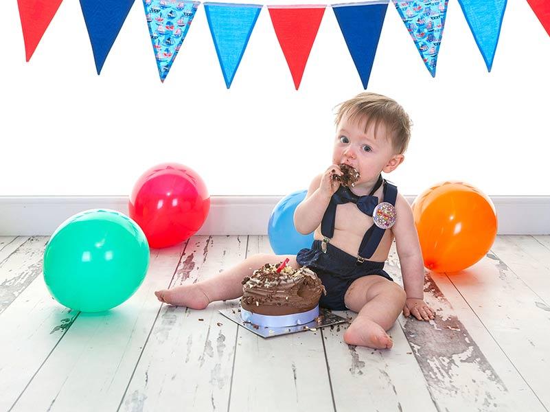 Newcastle Baby Photography Cake Smash