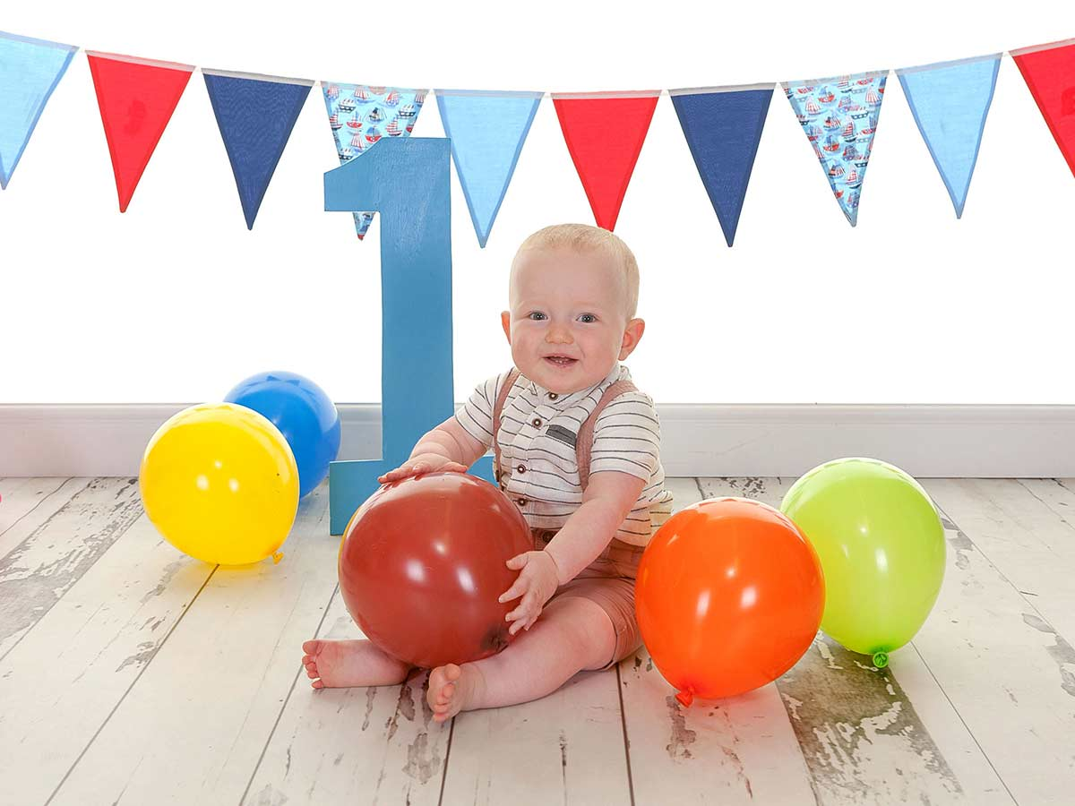 first birthday photoshoot in Newcastle gallery